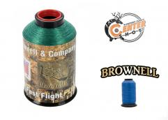 Нить тетивная Brownell Fast Flight Plus 1/4 lbs Blue